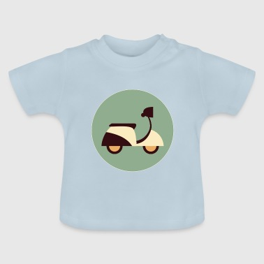 scooter riders - Baby T-Shirt