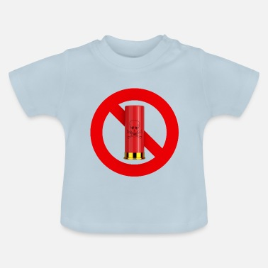 Interdiction Interdiction chasse - T-shirt Bébé