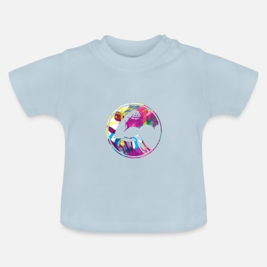 Muskel Muskel - biceps - Baby-T-shirt