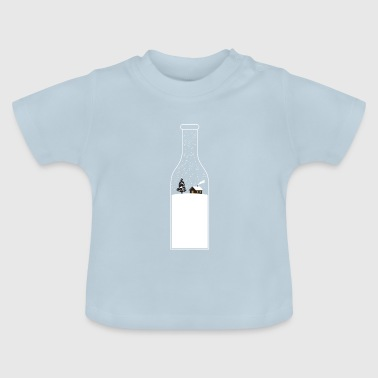 Christmas winter gift snow advent - Baby T-Shirt