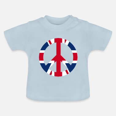 Uk Vredesteken icoon UK UK - Baby T-shirt
