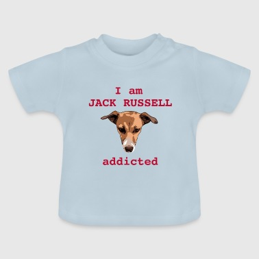 Jack russel addicted red - Baby T-Shirt