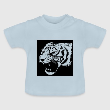 Tiger aggressiv - Baby T-Shirt