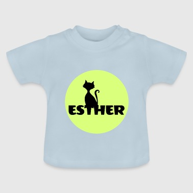 Esther name first name - Baby T-Shirt