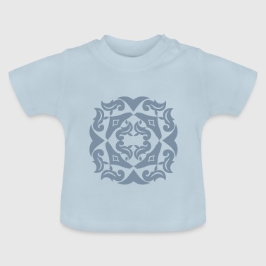 SILBER Blüte - Baby T-Shirt
