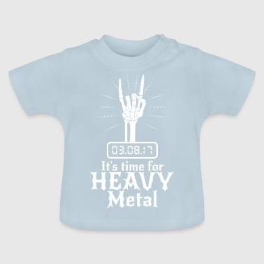 Det er tid for Heavy Metal - Baby-T-skjorte