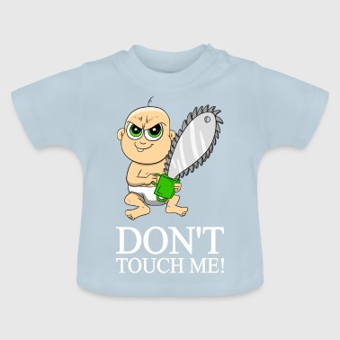 Baby with chainsaw chainsaw - Baby T-Shirt