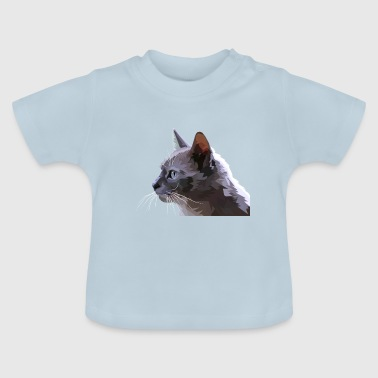 Poly cat - Camiseta bebé