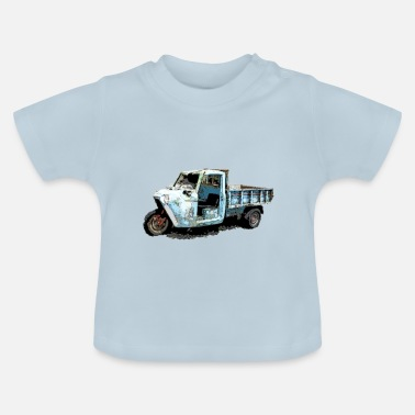 Vehicle Tricycle vehicle - Baby T-Shirt
