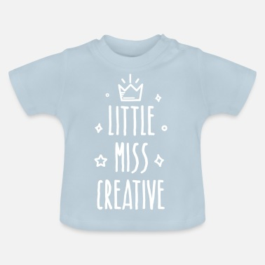 Little Italy Little miss Creative - Baby-T-shirt