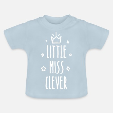 Little Italy Little miss Clever - Baby-T-shirt