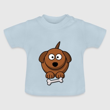 Cartoon Dog Cartoon dog - Baby T-Shirt