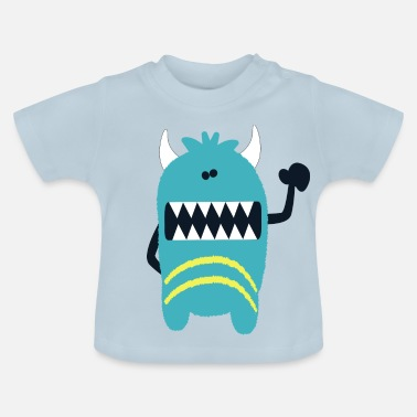 Monster Monster Noah - Monster Cool Collection - Baby T-Shirt