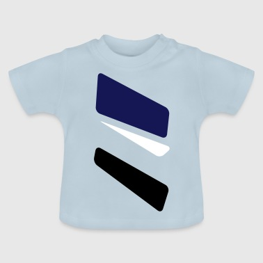 3 strikes triangle - Baby T-Shirt