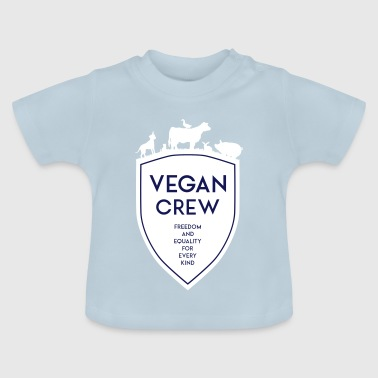 VEGAN CREW SHIELD - T-shirt Bébé