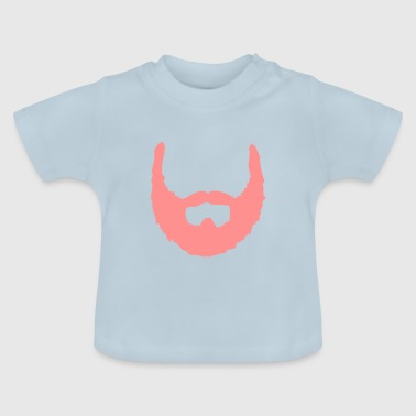 Beard ☆ beards ☆ bearded ☆ hairy - Baby T-Shirt