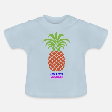 Ananas Dit is de ananas - Baby T-shirt