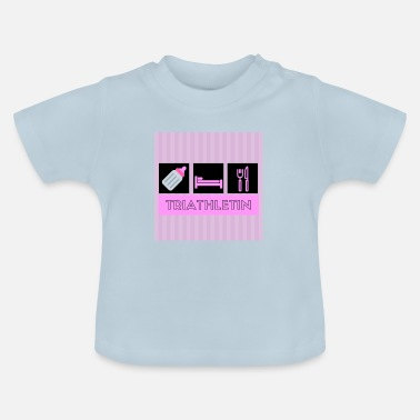 Baby Body Babysprüche Baby Body Triathletin - Baby T-Shirt