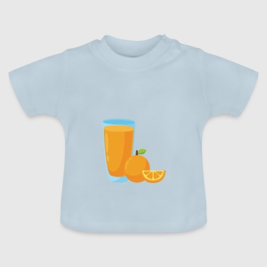 Orange Juice Orange apelsinjuice - Baby-T-shirt