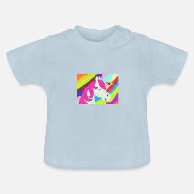 Pensel Unicorn pensel - Baby T-shirt