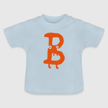 Letter Monster B - Baby T-Shirt