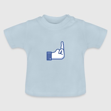 middle finger - Baby T-Shirt