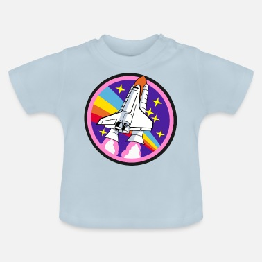 Space Space Shuttle - Baby T-Shirt