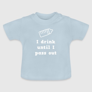 Babis Baby baby sayings baby belly - Baby T-Shirt