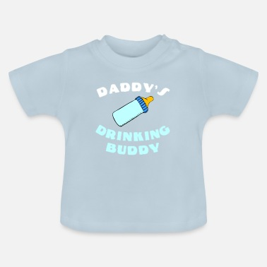 Far Spædbarn Far barn gave design hvidt spædbarn - Baby T-shirt