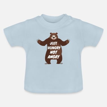 Ours Just Hungry - T-shirt Bébé