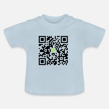 Telefon QR-kod (God-Man-Edition) - T-shirt baby