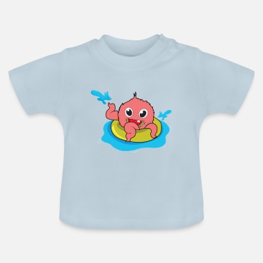 Pool swimming pool - T-shirt Bébé