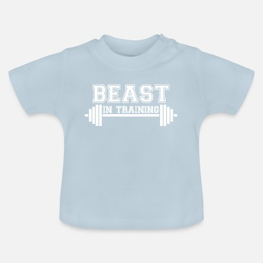 Mode Beast in training. Beast. Daddy's Beast. Son. Boy. - Baby T-Shirt
