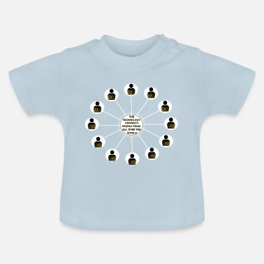 Internet Technology Technology connects - Baby T-Shirt
