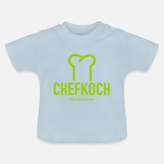 Gift Idea Baby Clothes - Chef - Chef's Hat - Chef de Cuisine - Kitchen - Baby T-Shirt light blue
