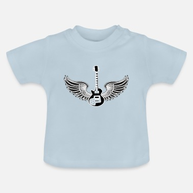 Heaven guitar heaven - Baby T-shirt