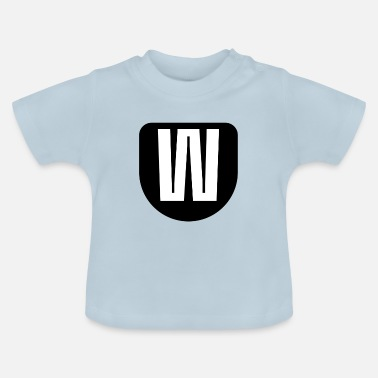 The letter W - Baby T-Shirt