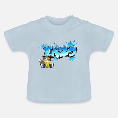 Enzo Enzo Graffiti Name - Baby T-Shirt bf2e18786