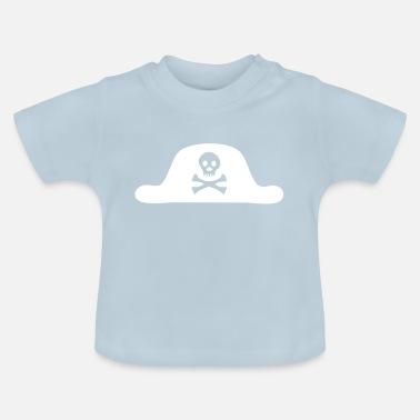 Pirata Marinaio pirata pirata morte pirata cappello pirata - Maglietta  neonato d91a5f31763a