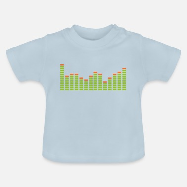 Equalizer Equalizer ontwerp - Baby T-shirt