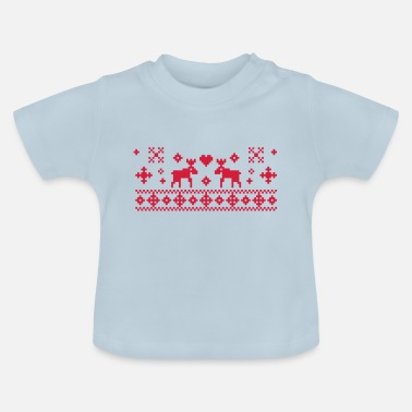 Viking Norwegian Xmas - Baby T-Shirt