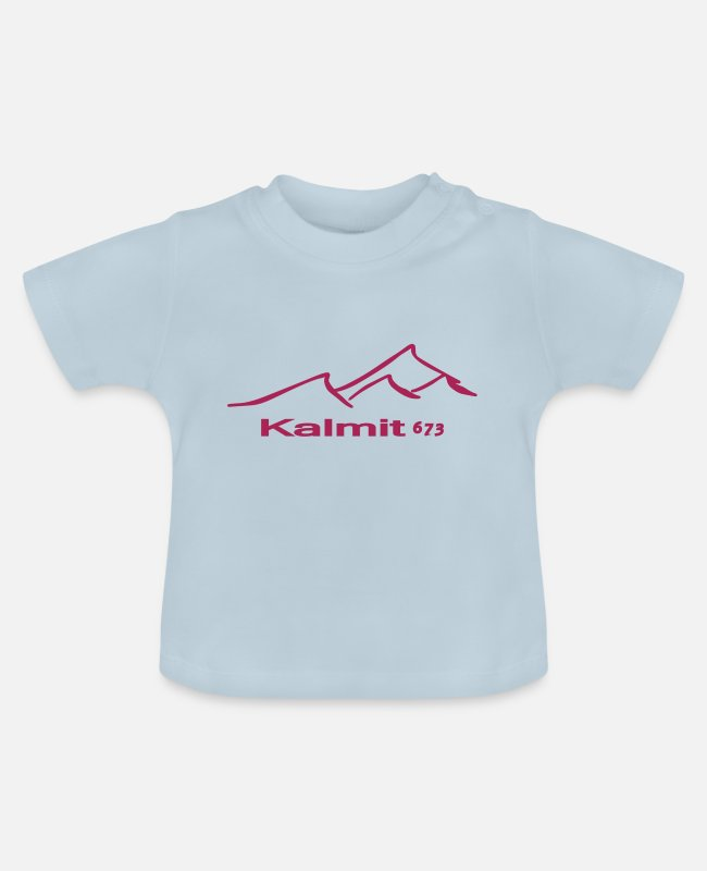Sport Climbing Baby T-Shirts - Kalmit Mountaingirl - Baby T-Shirt light blue