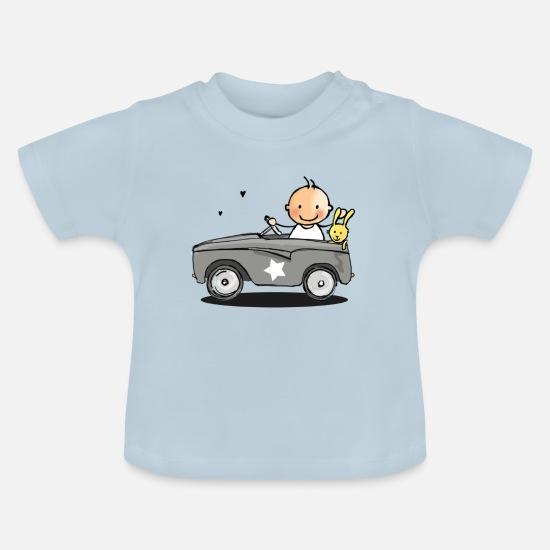 6e283db79 baby i retro bil Baby T-skjorte   Spreadshirt