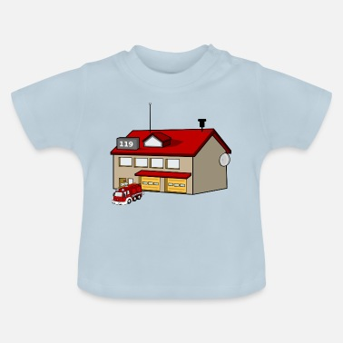 Station vuur station - Baby T-shirt