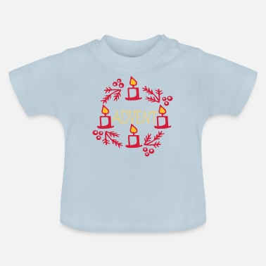 Advent Advent - Baby-T-shirt