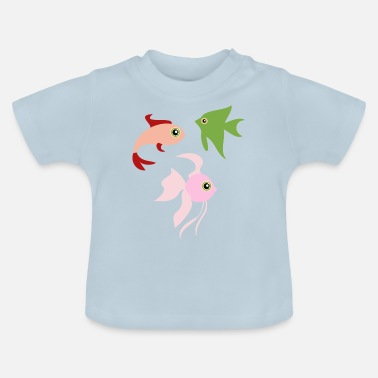 Illustration fisk Illustration - T-shirt baby