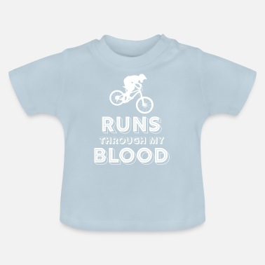 Bike Mountain biking - mountain biking - mountain bikers - Baby T-Shirt