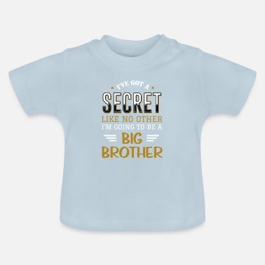 3d0feb608af30 Voy a ser una camiseta de nacimiento de hermano mayor - Camiseta bebé