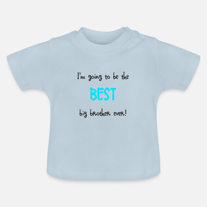 Brother Baby Clothing - Big brother - Baby T-Shirt light blue