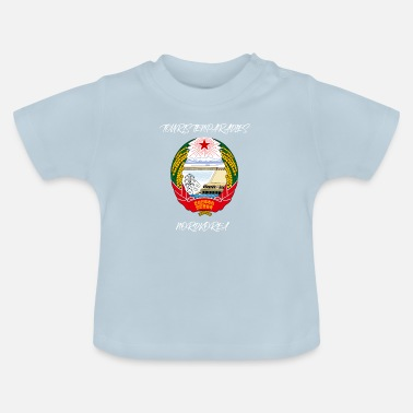 North Tourists paradise travel North Korea gift - Baby T-Shirt